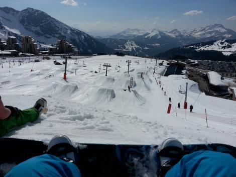 Avoriaz Snowpark
