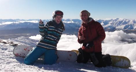 But I won't say no to snowboarding buddies, I guess.