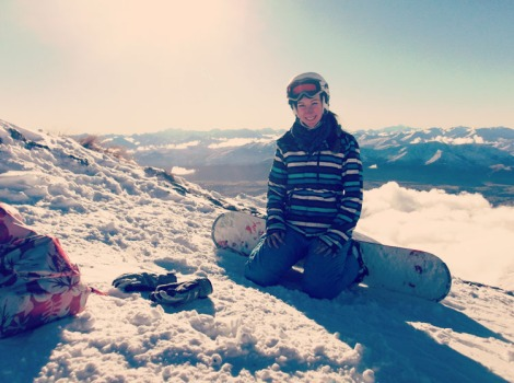 Snowboarding in New Zealand: who would have thought?