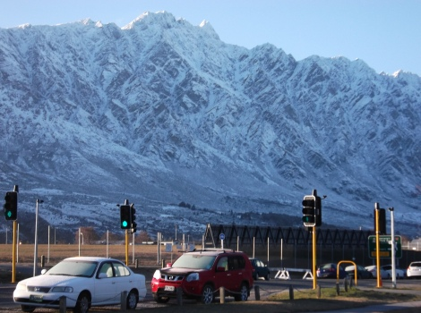 A remarkable view of the Remarkables.