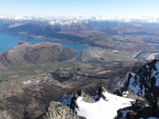 The view from The Remarkables lookout.