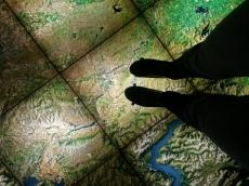 Standing somewhere near Lake Wakatipu.