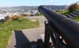 Cannon fire on Wellington!