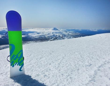Mt Ngaurahoe from Mt Ruapehu
